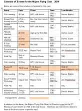 Calendar Revised 20 Feb 2014