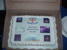 The customary and customized EOC celebratory cake.