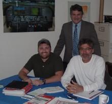 The 2014 IGS Class - BJ Finney, Brett Pelham, Denis Rottler