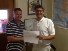 Denis receives official paperwork!